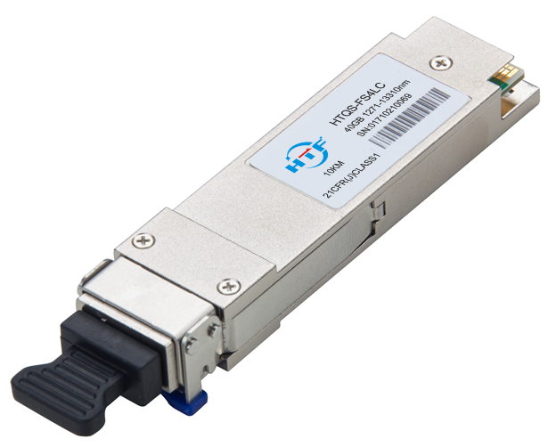 Chinese Manufacture 40G 10KM Optical Transceiver Module QSFP LR