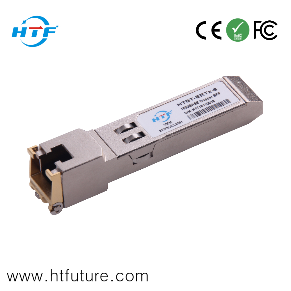 30M 100M 1.25G 10G Copper SFP Transceiver Module from Chinese Factory
